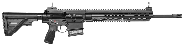 "Puška Heckler & Koch MR308 A3 20"" RAL8000"