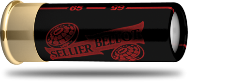 S&B Red and Black 12/65/7,6 mm