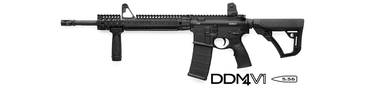 Puška Daniel Defense - DDM4 V1 Black