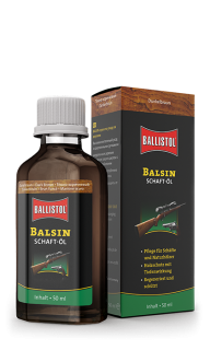 Ballistol Balsin Stock Oil - hnědý, 50 ml