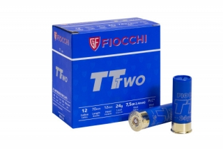 Brokový náboj Fiocchi TT Two Trap 12/70/12, 2,40 mm, 24 g